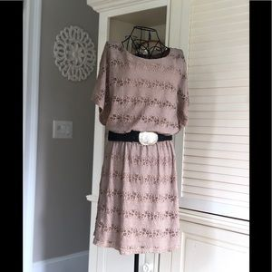 Lacy Boho Dress
